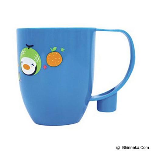 PUKU Baby Tooth Brush Cup 240cc [P17206] - Blue - Tempat Sikat Gigi